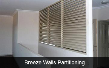 Breeze Wall Partitioning