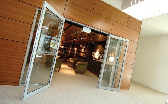Series 650 Aluminium Architectural Hinged Door